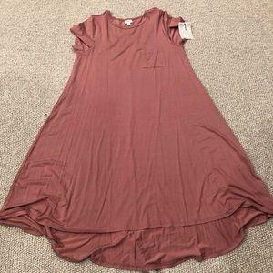 LuLaRoe Dresses - Lularoe Dusty Rose Carly